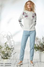 Модель 1606 белый Niv Niv Fashion