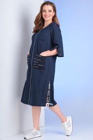 Модель 0923 синий джинс Viola Style
