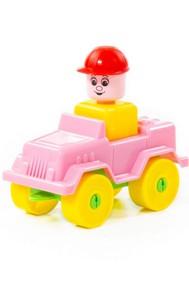 Автомобиль-джип (9 элементов)