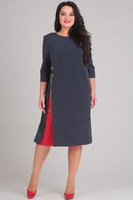 Модель 0080 черный+красный Andrea Style