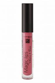 VITEX Глянцевый блеск для губ MAGIC LIPS, 3 г. тон 811 Ruby wine