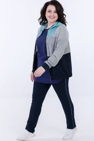 Модель 5043 серо-синий Belinga