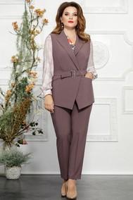 Модель 4824-2 фиолетовые тона Mira Fashion