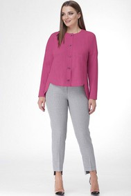 Модель 1070 розовый+серый Kralya Luxe
