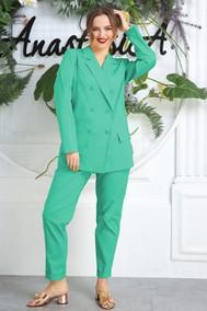 Модель 580 мятно-зеленый Anastasia