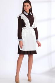 Модель 536 шоколад+белый Angelina & Company