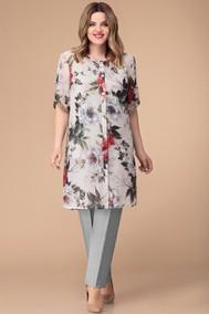 Модель 1233 светлый+цветы Svetlana Style