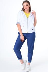 Модель 2024 белый + джинс Danaida