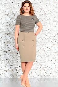 Модель 4578 бежевый Mira Fashion