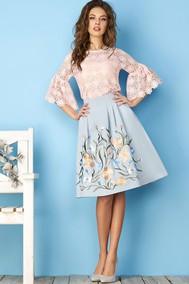 Модель 2869-Б голубой Niv Niv Fashion
