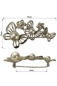 Модель 62085 три бабочки серебро Sergio Stefano