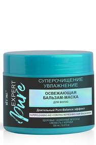 EXPERT PURE Освежающая бальзам-маска для волос СУПЕРОЧИЩЕНИЕ и УВЛАЖНЕНИЕ