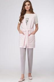 Модель 783 серый с розовым Verita