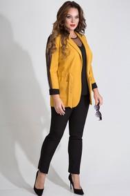 Модель 736В желтый+черный Лилиана