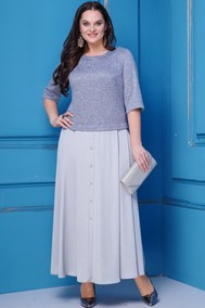 Модель 255 серо-голубой Anastasia