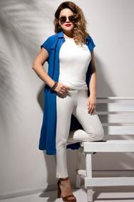 Модель 2046 синий+белый JeRusi