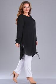 Модель 212 черный верх+белые брюки Foxy fox