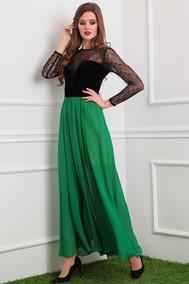 Модель 2386 черный+зеленый Мода-Юрс