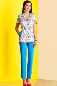 Модель 3666 голубой Lissana