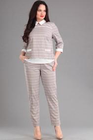 1393 серый с белым Lady Style Classic