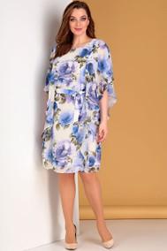 Модель 700 синие цветы Лиона-Стиль