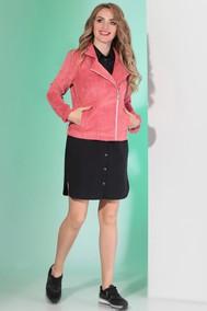 Модель 394 темно розовый черный Angelina & Company
