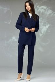Модель 596 темно синий мелкая ячейка Angelina & Company