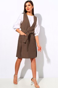 Модель 1147-1 коричневый МиА Мода