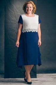 Модель 425-1 синий с белым Erika Style