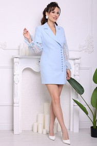 Модель 2686 нежно-голубой Мода-Юрс