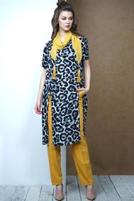 Модель 3431 леопард+оттенки жёлтого Fantazia Mod