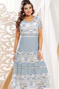 Модель 11243 нежно голубой (подкладка телесного цвета) VITTORIA QUEEN