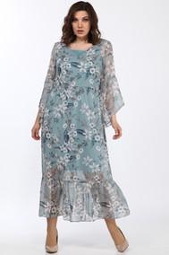 Модель 1802/1 Голубые тона Цветы Lady Style Classic