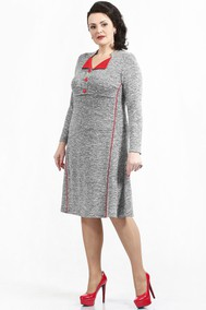 713 серый с красным Madame Rita