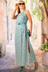 Модель 782-2 бирюзовые цветы МиА Мода