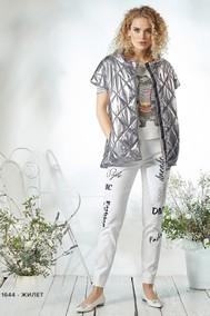Модель 1644 серебро Niv Niv Fashion