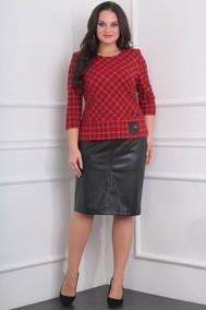Модель 988 Красный с черным Милана