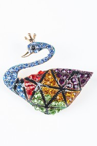 Модель Лебёдушка разноцветный Fashion Jewelry