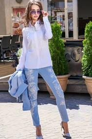 Модель 2894а голубой Niv Niv Fashion