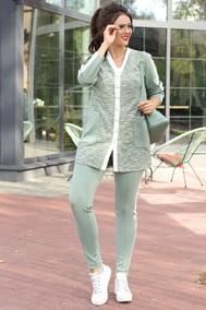 Модель 2573 серо-зеленый Мода-Юрс