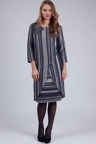 Модель 397 серая полоска SVT-fashion