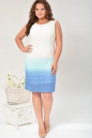 Модель 588 белый+голубой Lady Style Classic