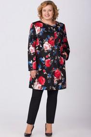 Модель 1089 черный+цветы Svetlana Style