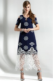 Модель 1287 синий+белый Diva