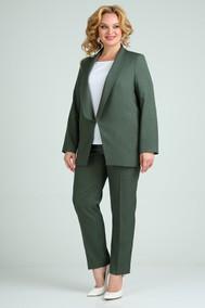Модель 526 тёмно-зелёный SVT-fashion