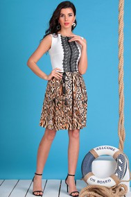 Модель 2326 леопард Мода-Юрс