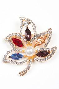 Модель Брошь 97076 золотой Fashion Jewelry