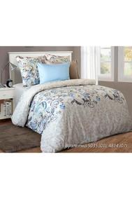 Модель 4127.503501 Вуалетка бежевый+голубой Блакiт