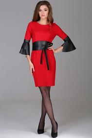 1005 красные тона с рукавом Arita Style-Denissa