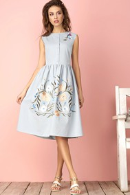 Модель 2884 голубой Niv Niv Fashion